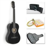 black-acoustic-guitar-starter-package-reviews