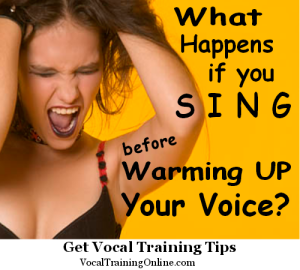 singing warm up