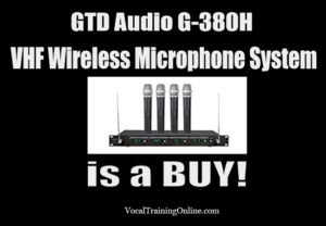 best wireless microphones for singing