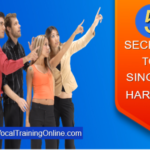 how to sing harmony